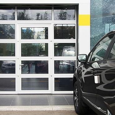 Панорамные ворота серии AluPro 3500×3500